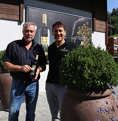 Bouteille de vin Heida St. Jodern