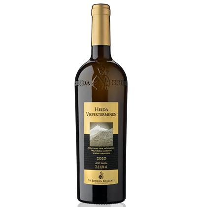 Forme de bouteille de vin Heida St. Jodern