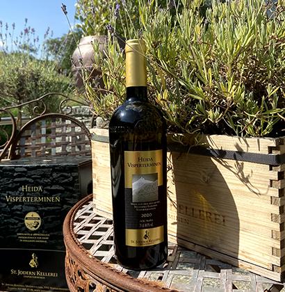 Forme de bouteille de vin St Jodern