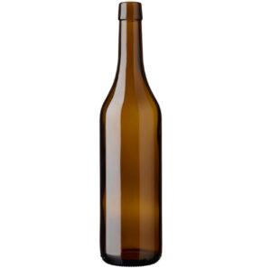 Vaud Wine Bottle Bartop 70 cl oak ancienne